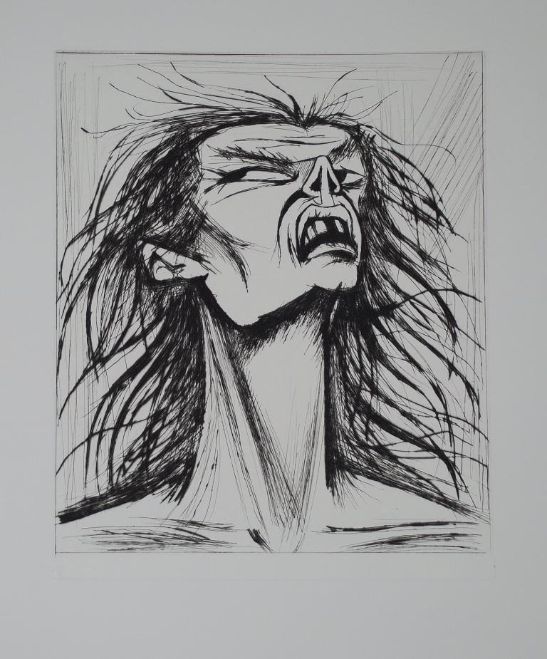 L'enfer de Dante - Figure édentée