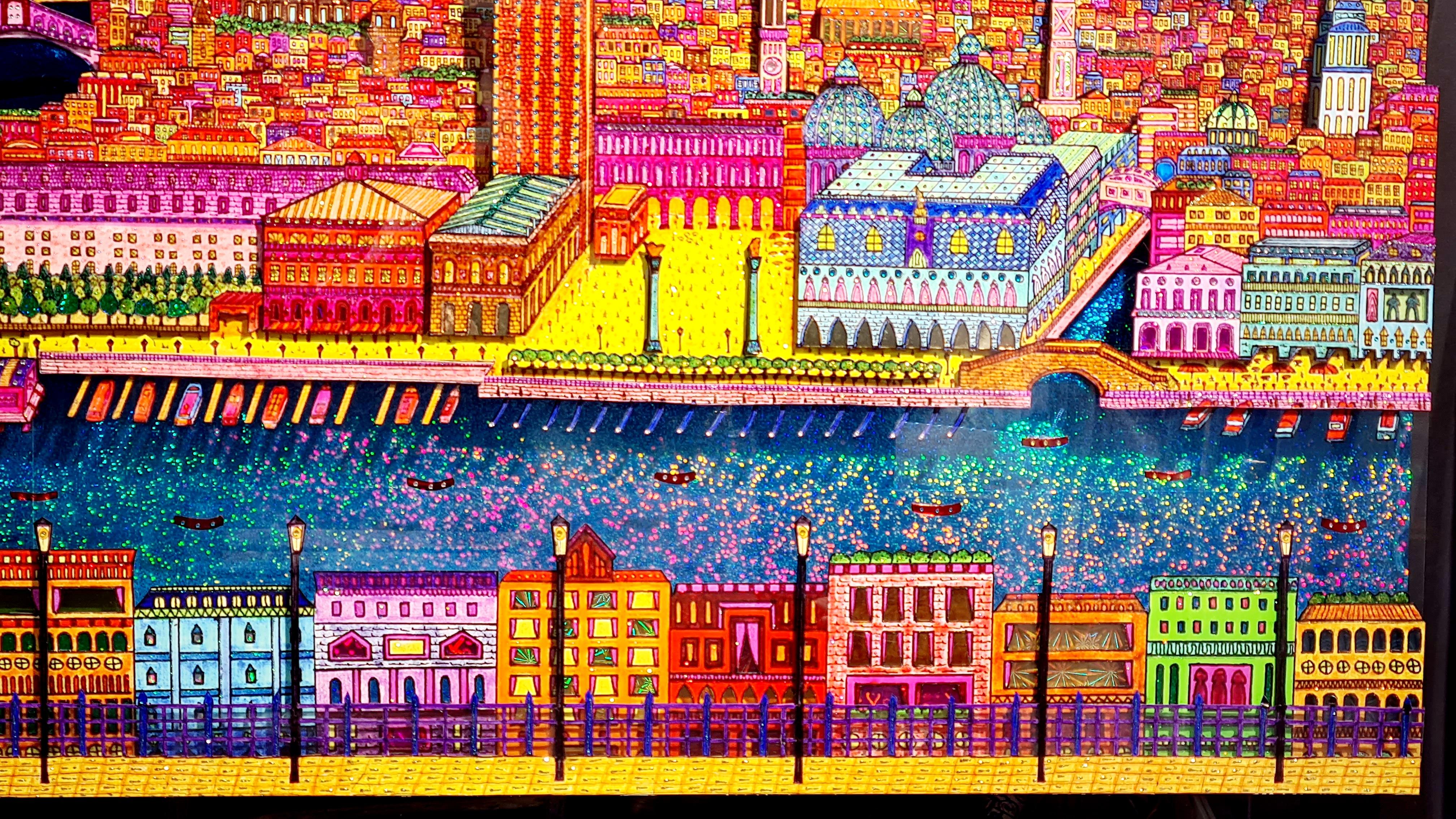 Venise 3D 86X117CM