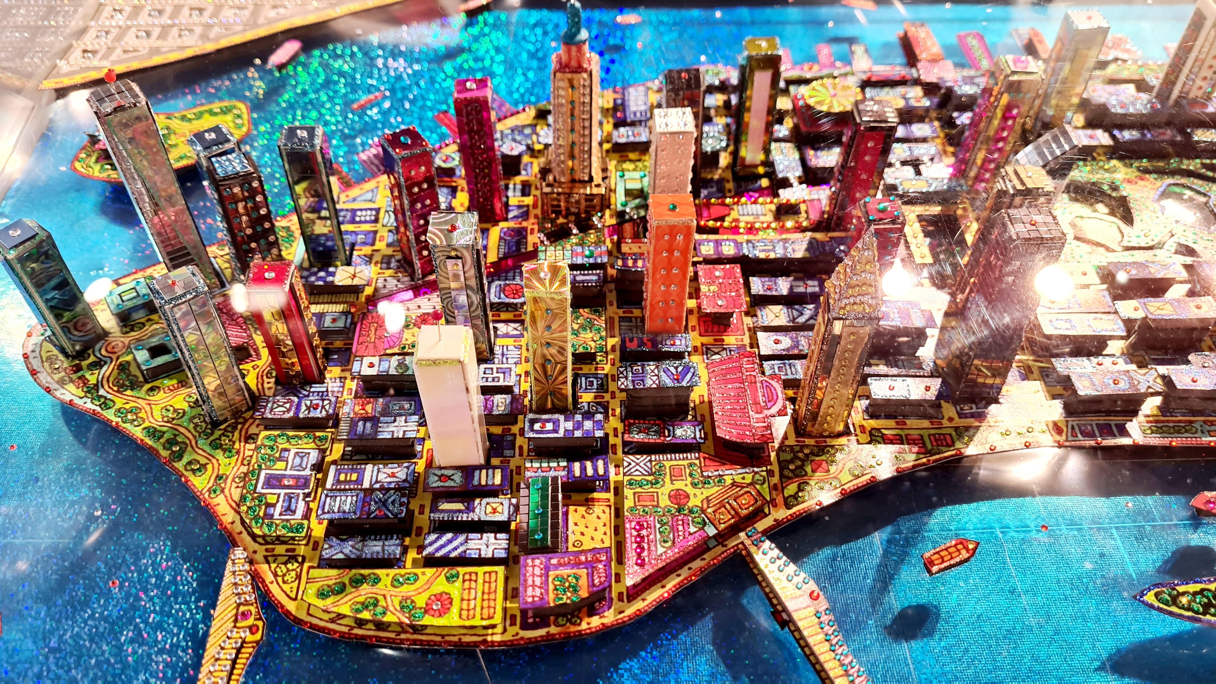 Manhattan 55X101CM