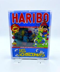 HARIBO SCHTROUMPFS 21,5X18X5CM