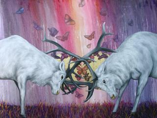 Les animaux de L. MCNAUGHT à Gryon