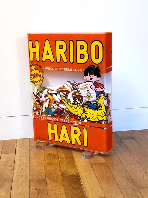 HARIBO HARI 53X41X6,5CM