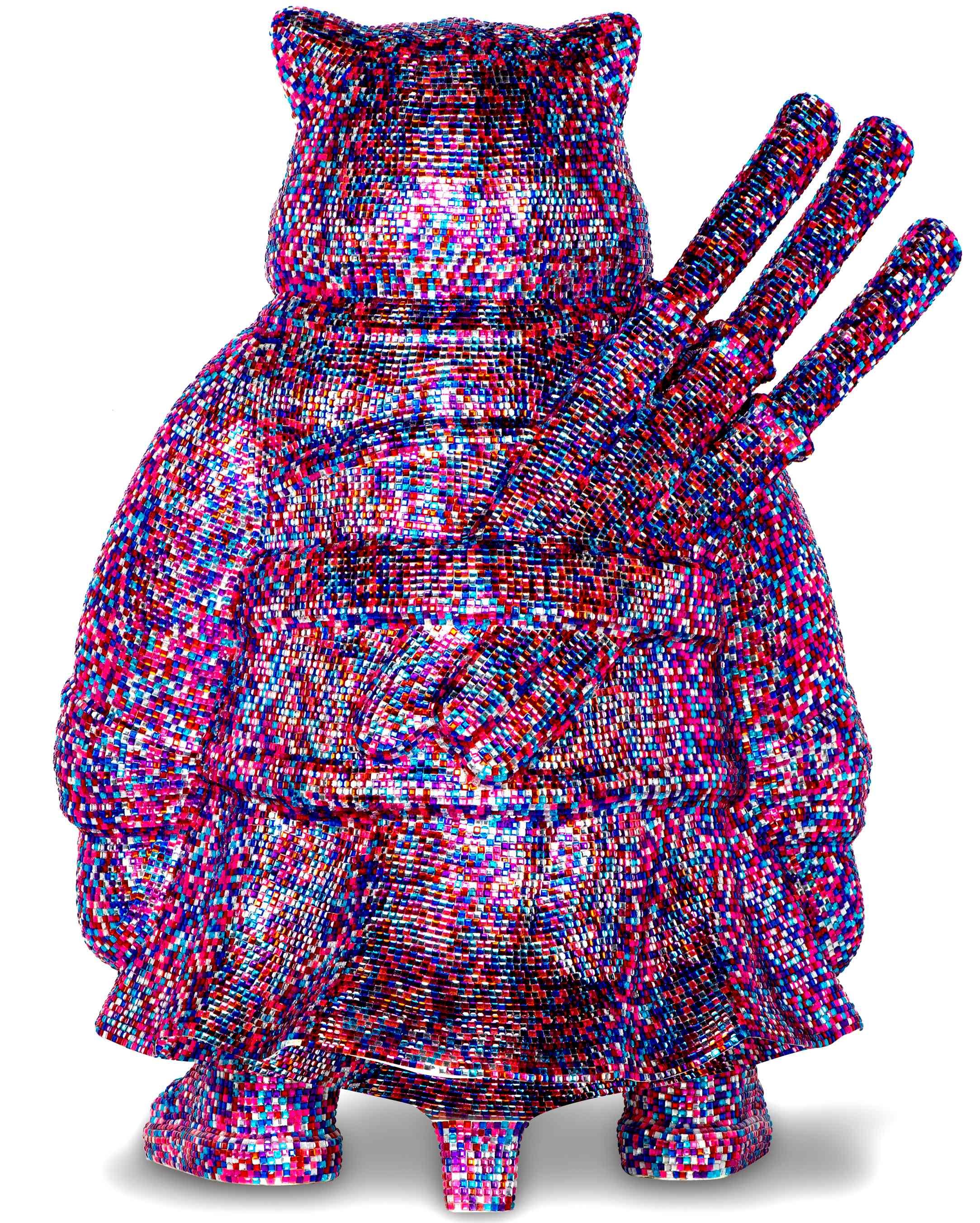 SAMURAI DIAMONDS STRASS PINK