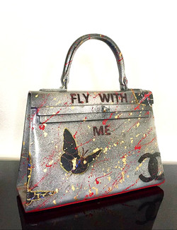 FLY WITH ME 36X33X10CM