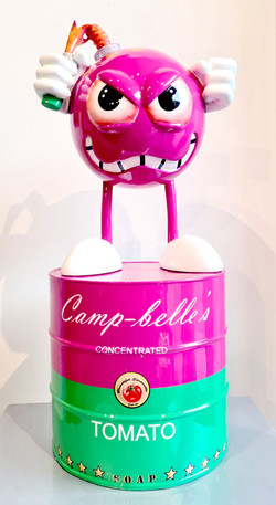 Miss Bomb Camp Belles Pink 70CM