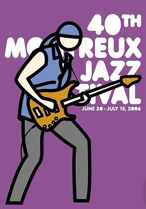 Julian Opie - Montreux Jazz 2006 (Purple)
