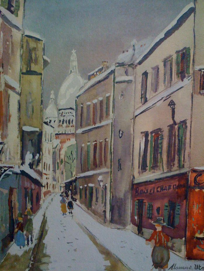 La Rue Saint-Rustique