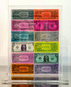 Coffrage DOLLARS 42X36X14CM