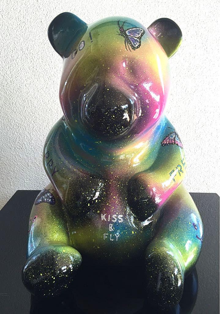 "Panda ""KISS & FLY"" 41X31X33CM"