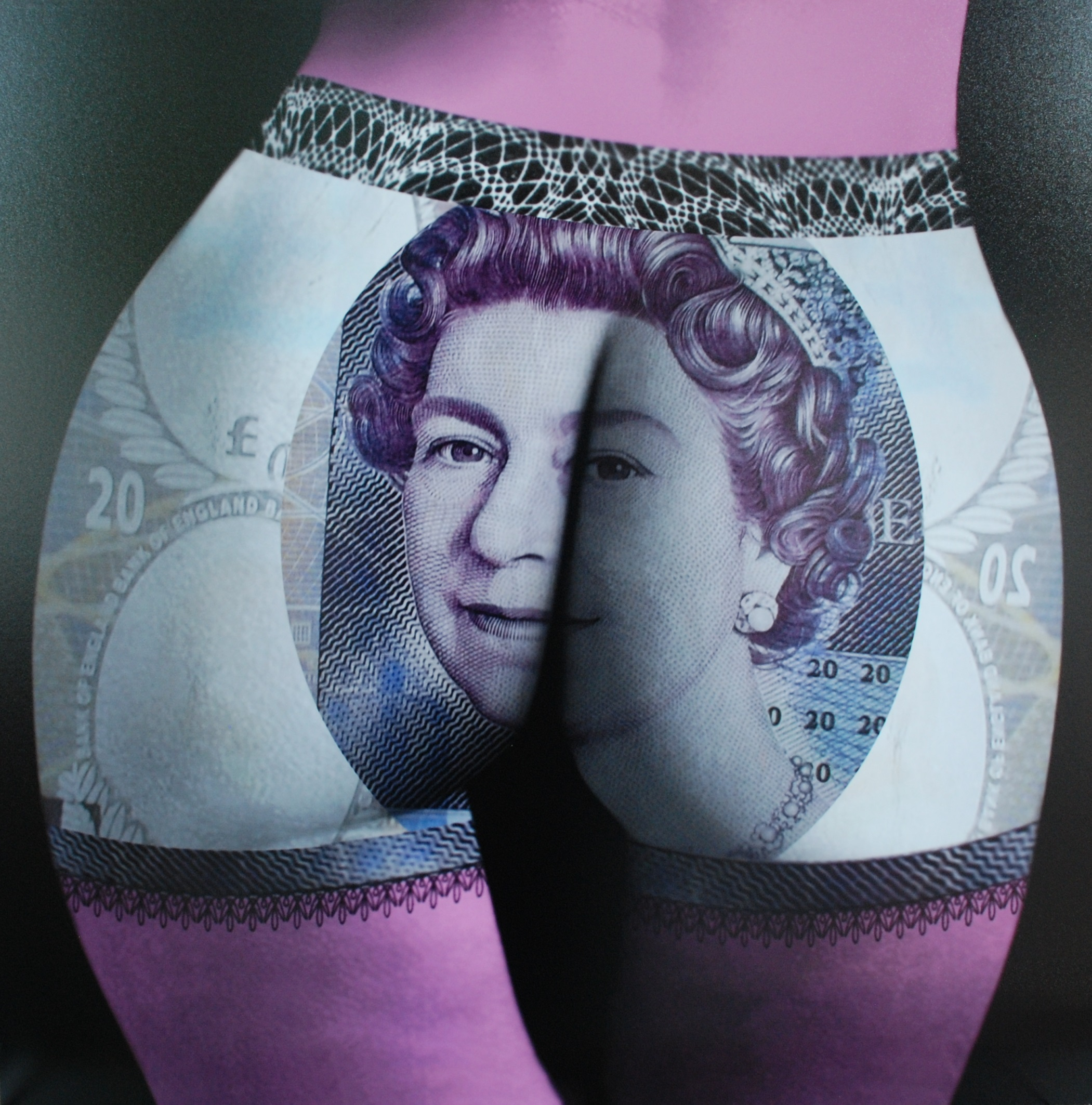 Buttocks Queen 60X60CM