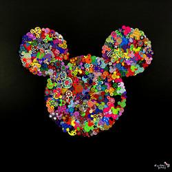 Oh my Mickey 80X80CM