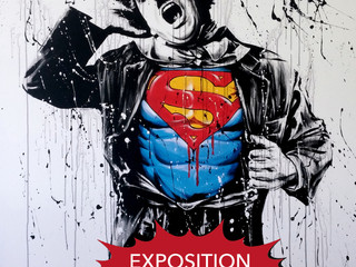 SUPER HEROS ART