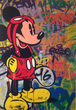 MICKEY MOUSE 120X84CM