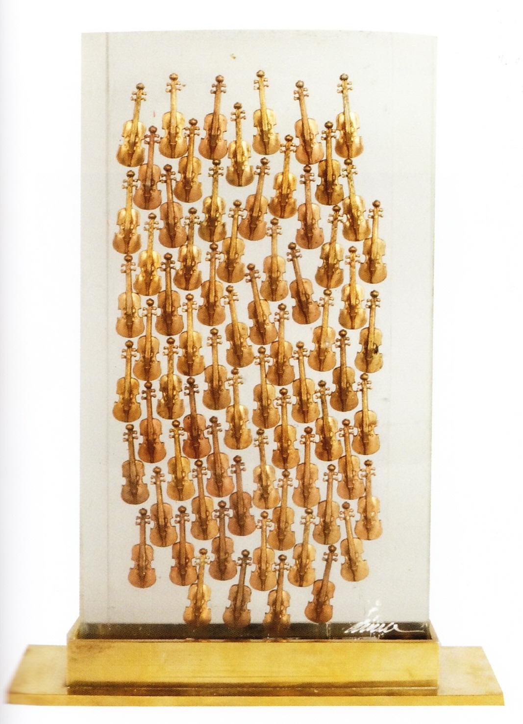 100 violons 28X15X3CM