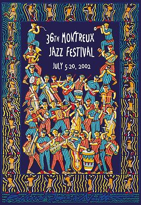 Richard James North - Montreux Jazz 2002