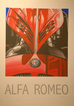 Calandre Alfa 8C