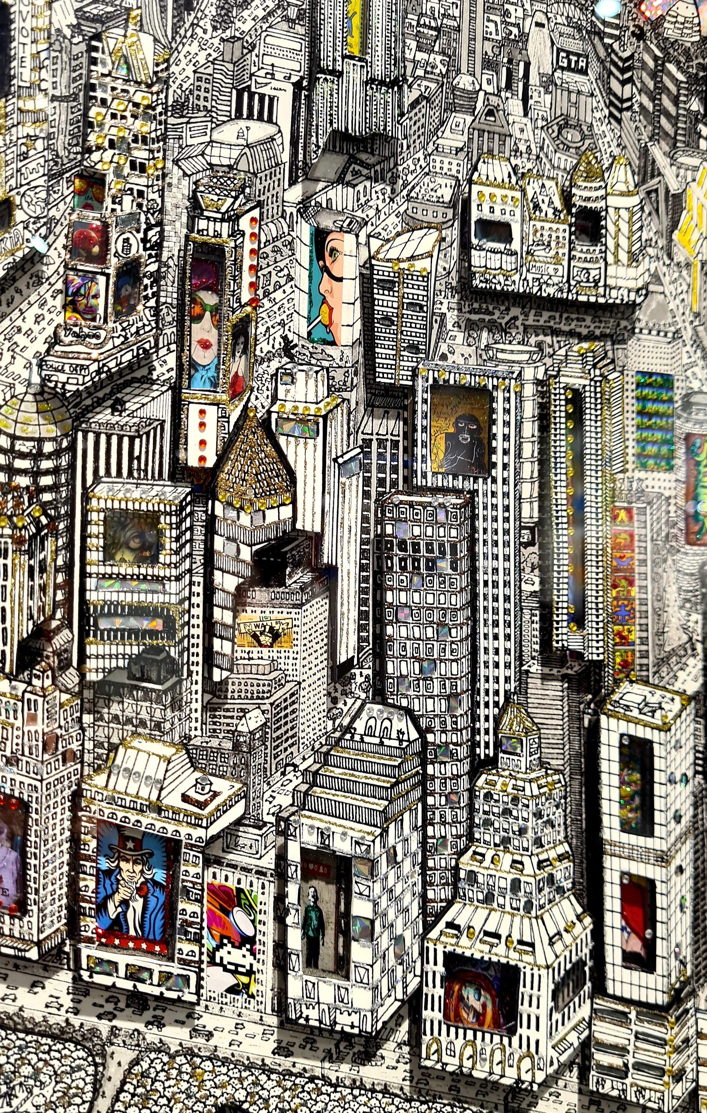 New York Street Art 60X75CM