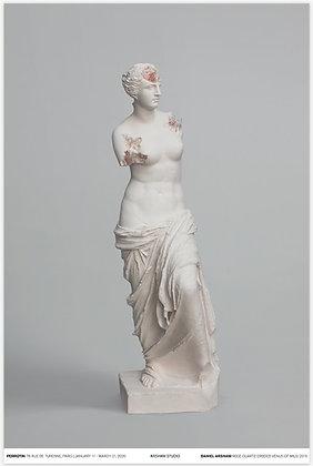 Rose Quartz Eroded Venus of Milo