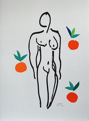 Le Nu aux oranges