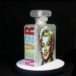 Bottle LOVE MARYLIN 23x33x10cm