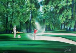 Golf. Bunker 1
