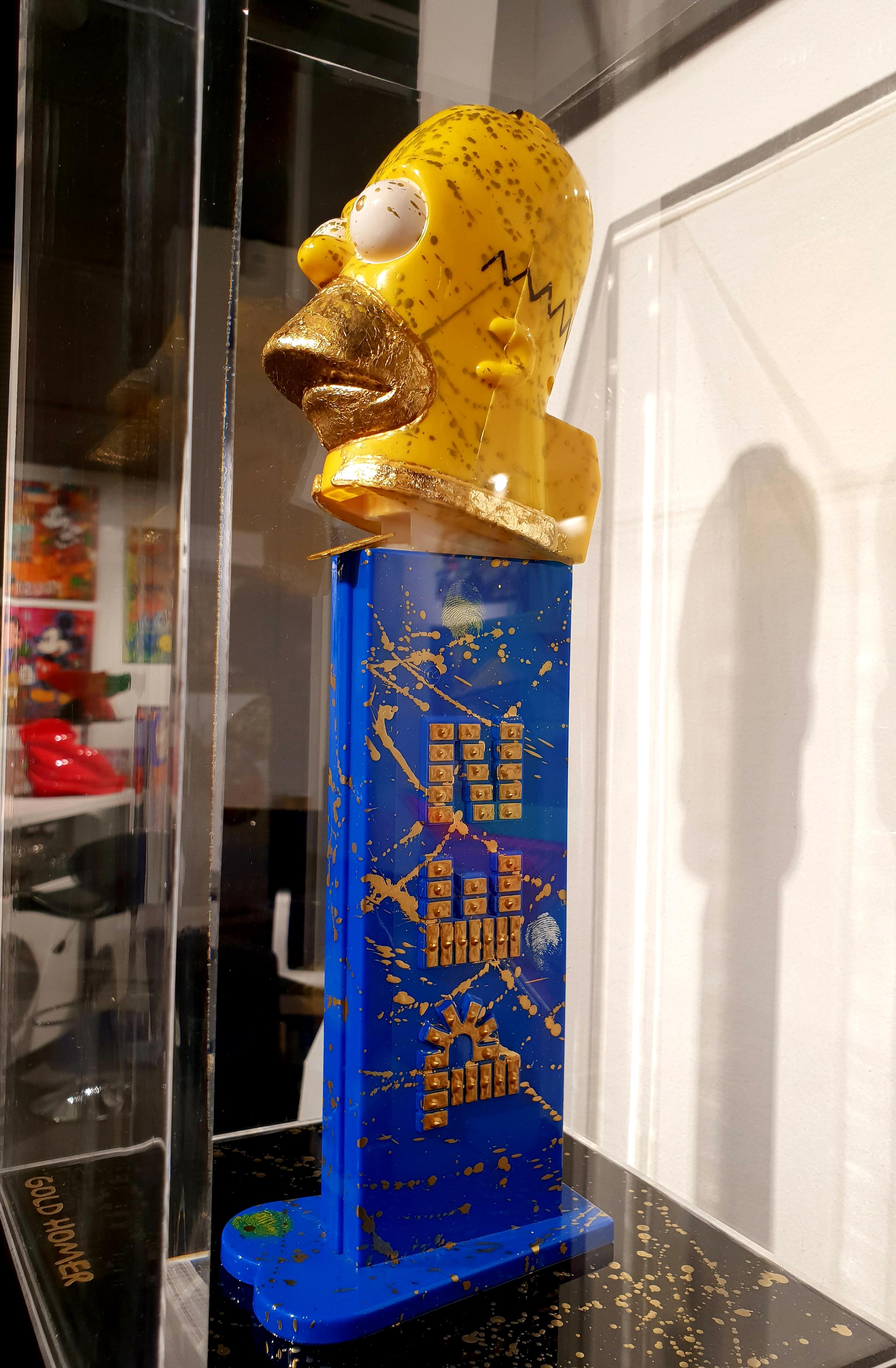 PEZ - GOLD HOMER 99X20X20CM