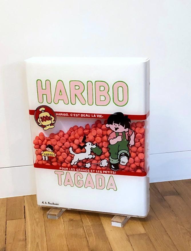 HARIBO TAGADA 53X41X6,5CM