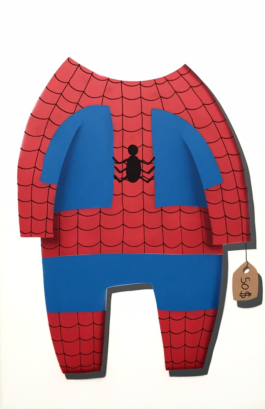 COSTUME SPIDERMAN 100X65CM