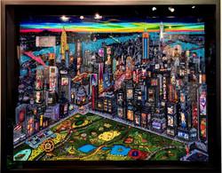 NY Artist 107X134CM