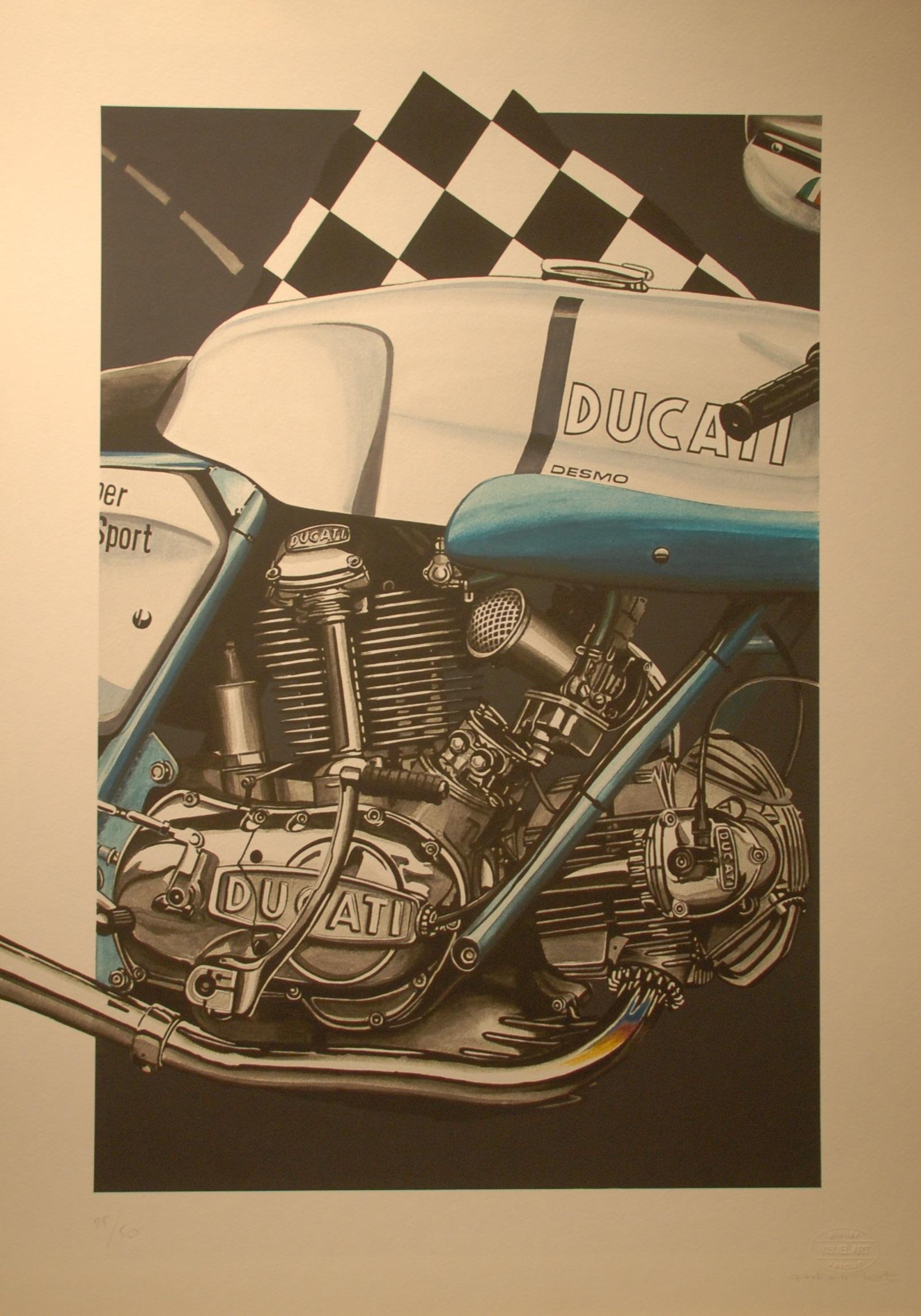 Moto Ducati 750