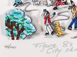 Figure 8s on City skates (détail)