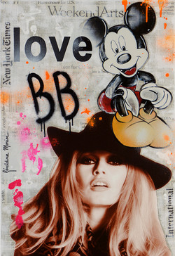 LOVE BB 73X50CM
