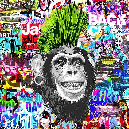 Crazy Green Monkey