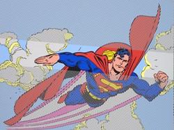 SUPERMAN 97X130CM