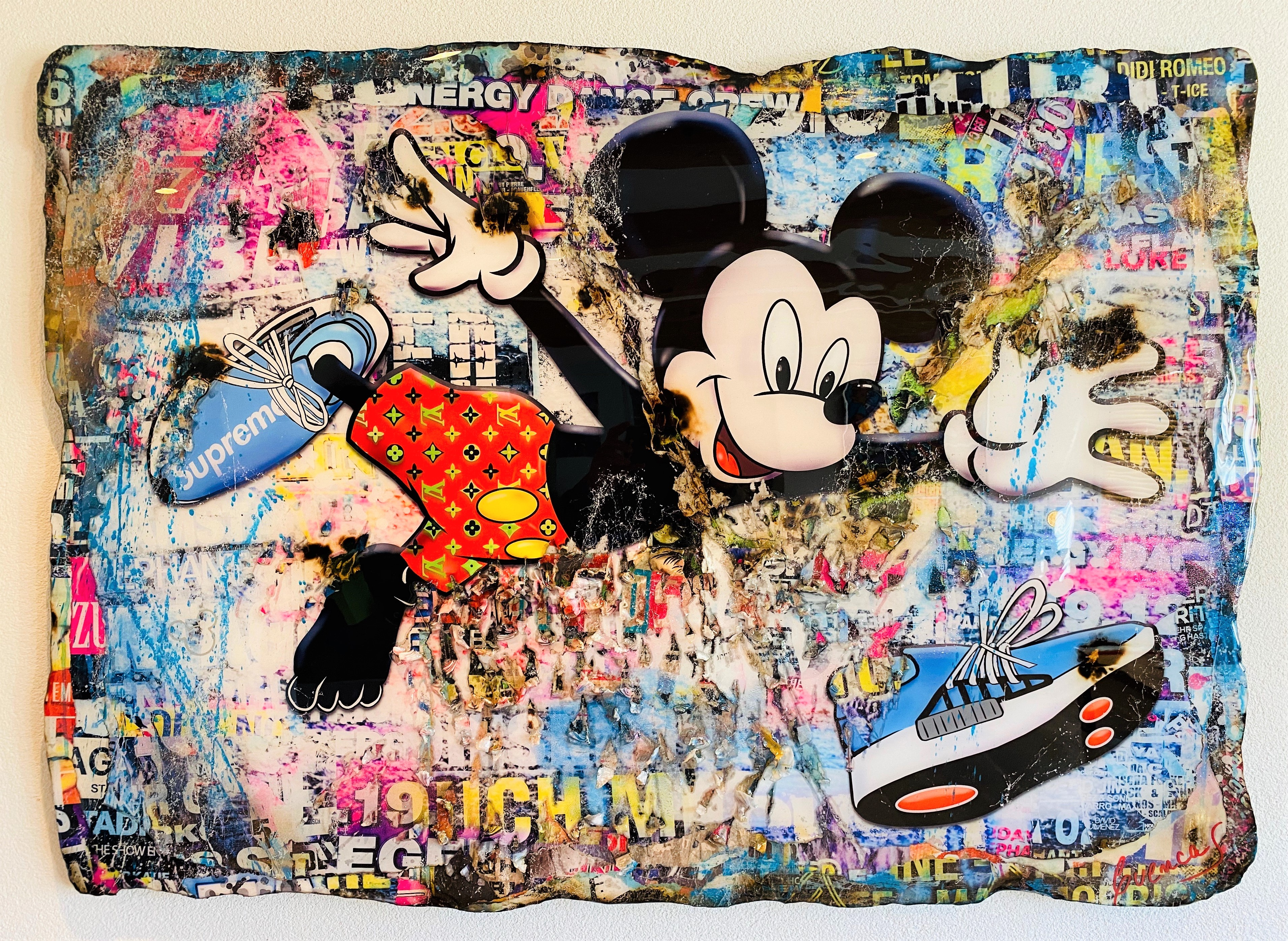 I LOVE MY SNEAKERS 90X130CM