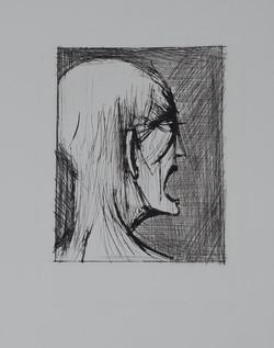 L'enfer de Dante - Dante ricanant