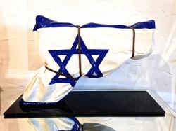 Gun ISRAEL 38X60X20CM