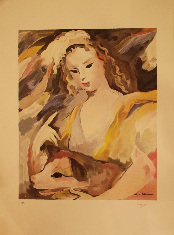 La jeune fille et son chien