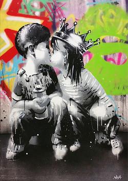 KISS ME №4 116X81CM