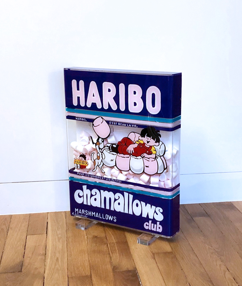HARIBO CHAMALLOWS 53X41X6,5CM