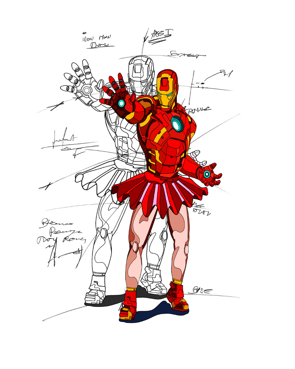 Ironman en tutu