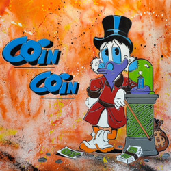COIN COIN 100X100CM