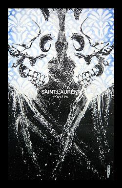 Vanité #55 SAINT LAURENT 52X32CM