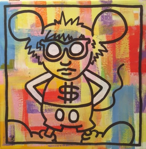 ANDY MOUSE 30X30CM