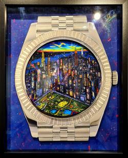 Rolex Day Just NYC 52X42CM