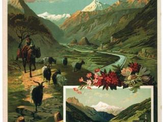 Les affiches suisses à Villars