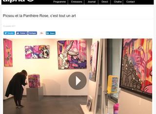 La télé est passée chez Samhart Gallery
