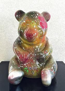 """Panda """"FOLLOW YOUR HEART"""" 41X31X33cm"""