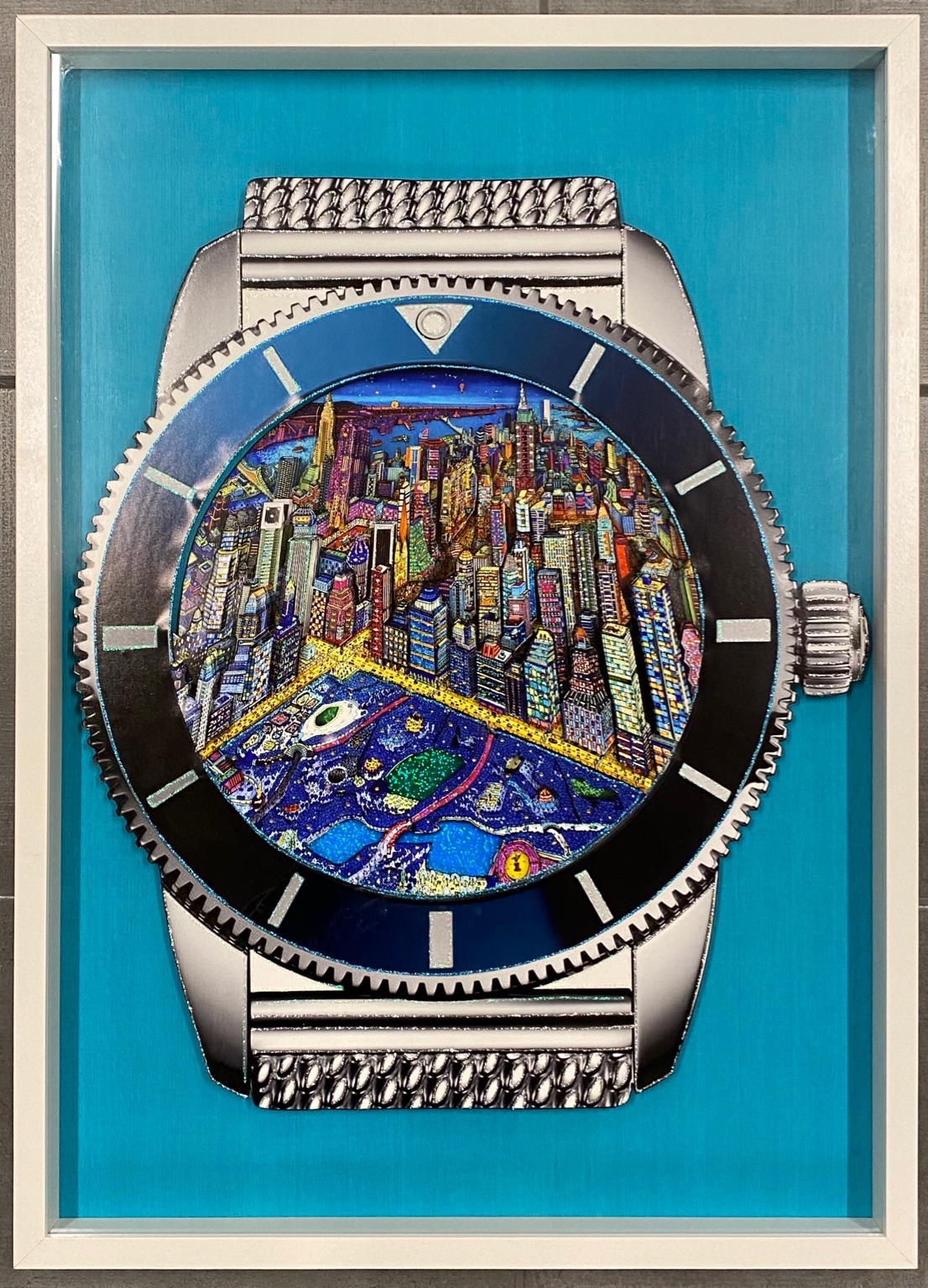 Breitling New York 3D Watches 72X52CM