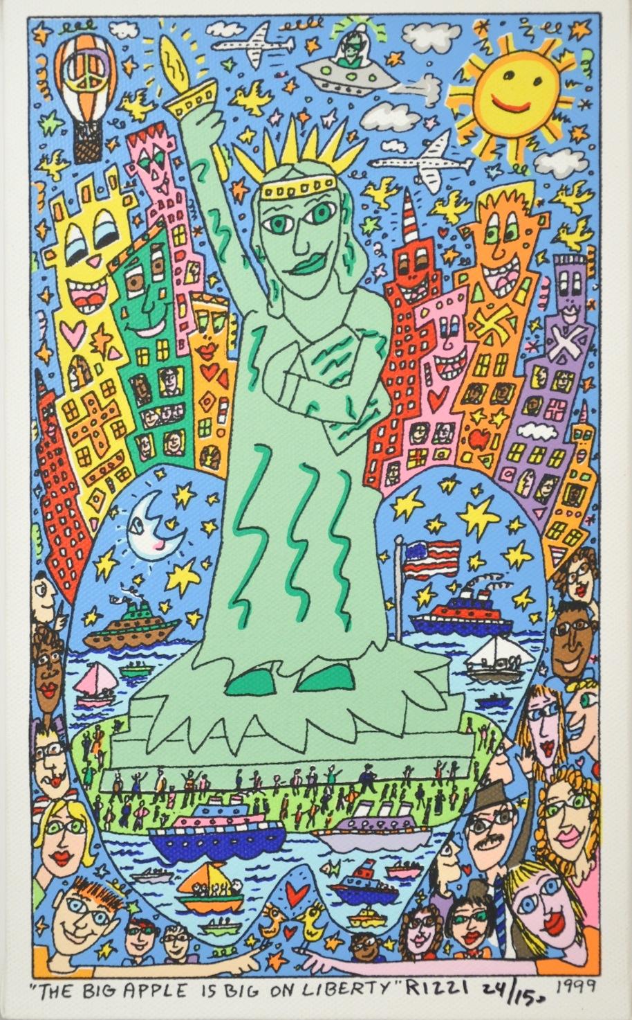 The Big Apple is Big on Liberty